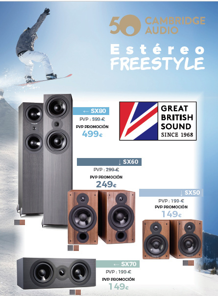 Cambridge Audio Estereo freestyle