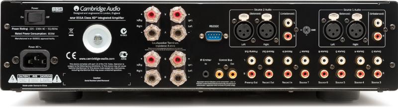 Cambridge Audio 851A conexiones