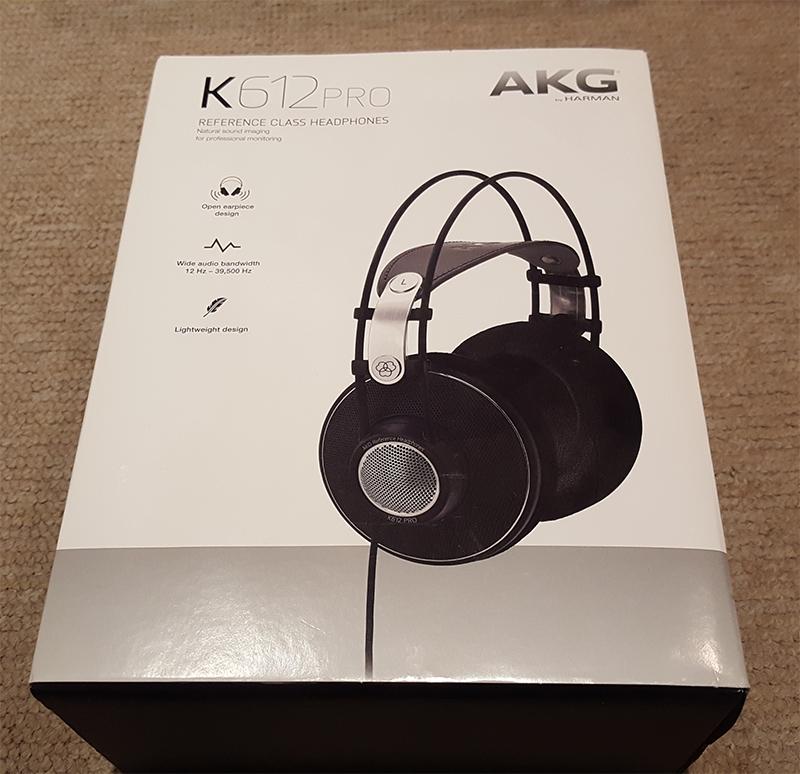 Caja AKG K612 Pro