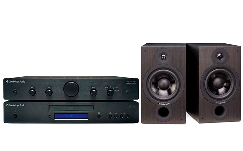 Cambridge Audio AM-CD5 + SX60 Negro