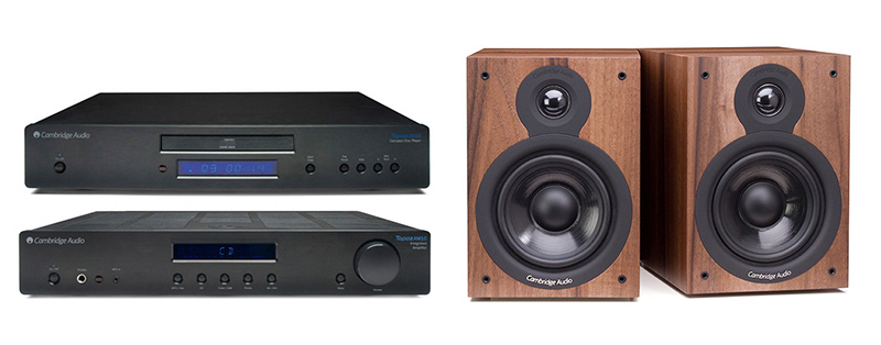 Cambridge Audio AM-CD10 + SX50 Dark Walnut
