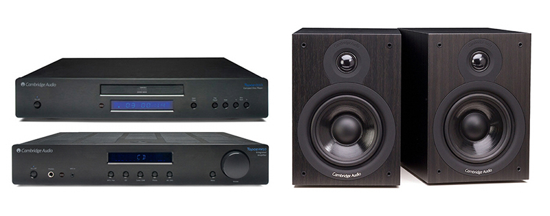 Cambridge Audio AM-CD10 + SX50 Negro