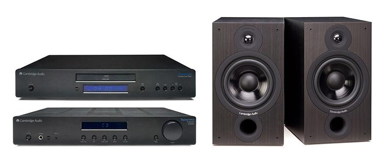Cambridge Audio AM-CD10 + SX60 Negro