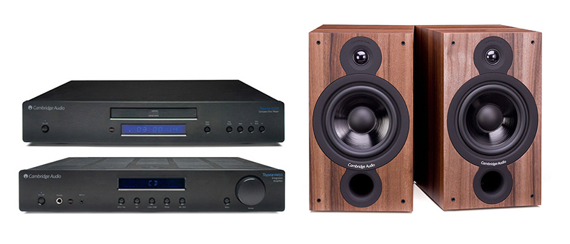 Cambridge Audio AM-CD10 + SX60 Dark Walnut