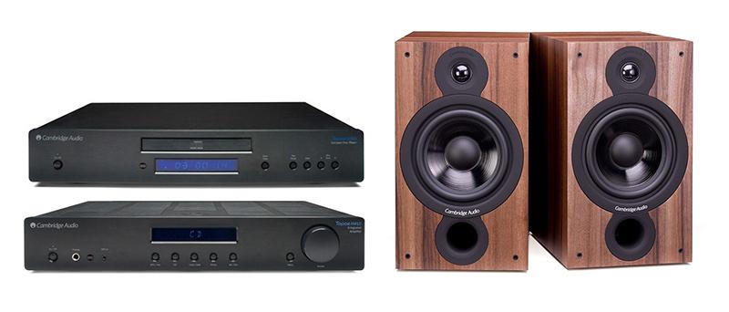 Cambridge Audio AM-CD10 + SX60 Dark Walnut