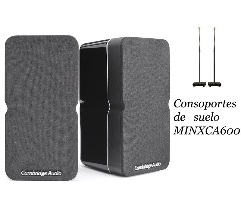 Cambridge Aduio Minx22 + soporte suelo