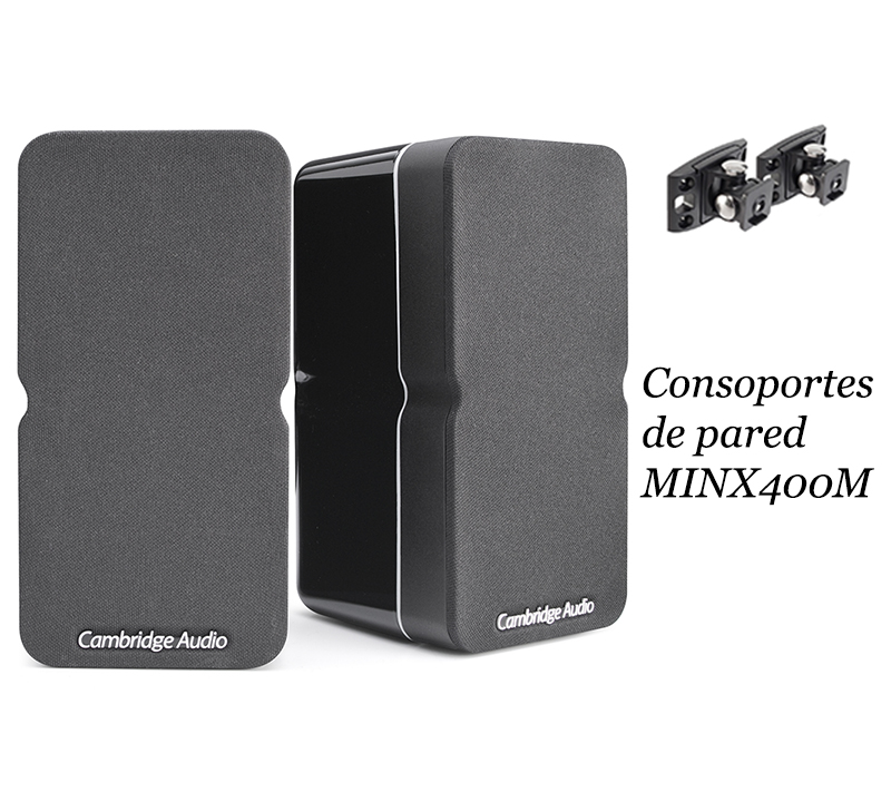 Cambridge Audio MINX22 + soporte pared