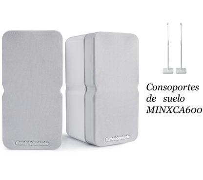 Cambridge Audio MINX22 white + soporte suelo