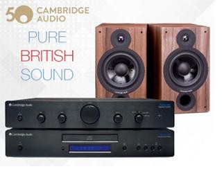 Cambridge Audio, Pure British Sound