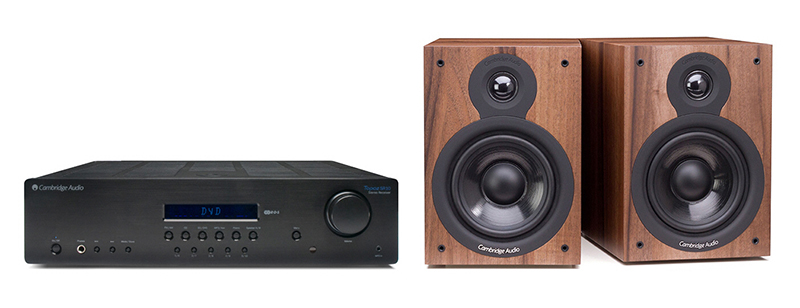 Cambridge Audio SR10 + SX50 Dark Walnut