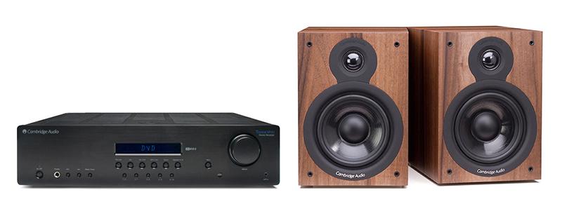 Cambridge Audio SR10 + SX50 Dark Walnut