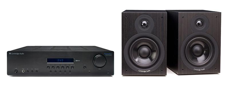 Cambridge Audio SR10 + SX50 Dark Negro