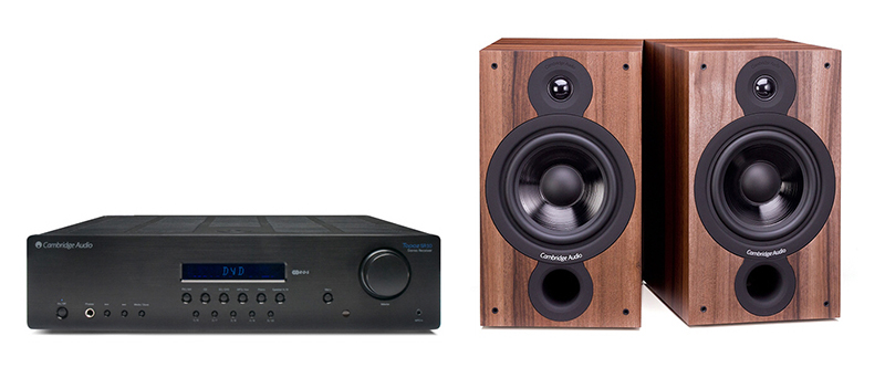 Cambridge Audio SR10 + SX60 Dark Walnut