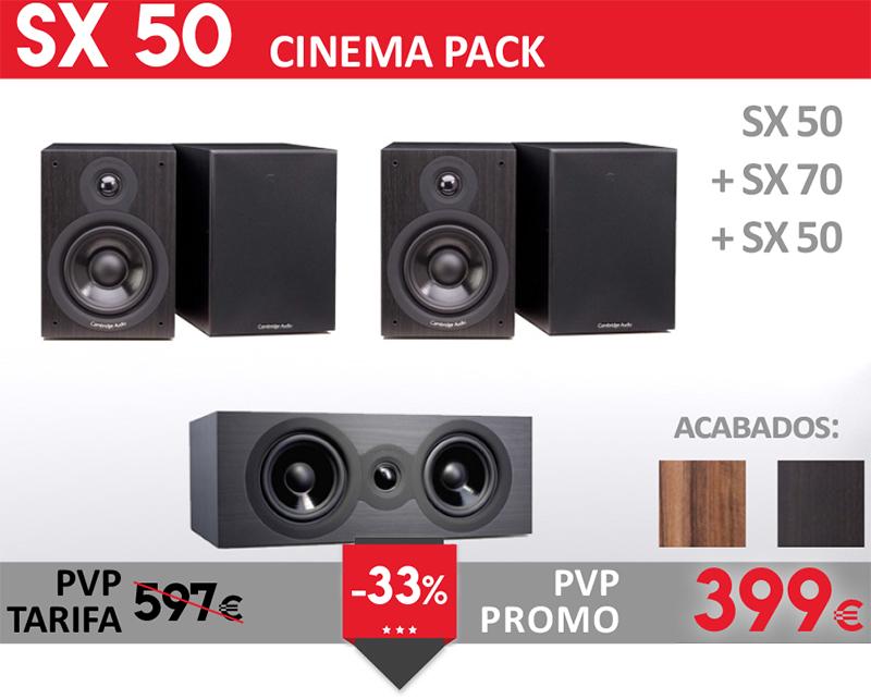 Cambridge Audio SX50 Cinema Pack