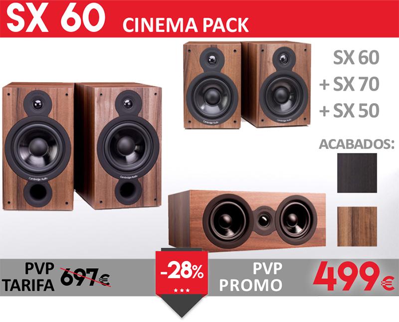 Cambridge Audio SX60 Cinema Pack