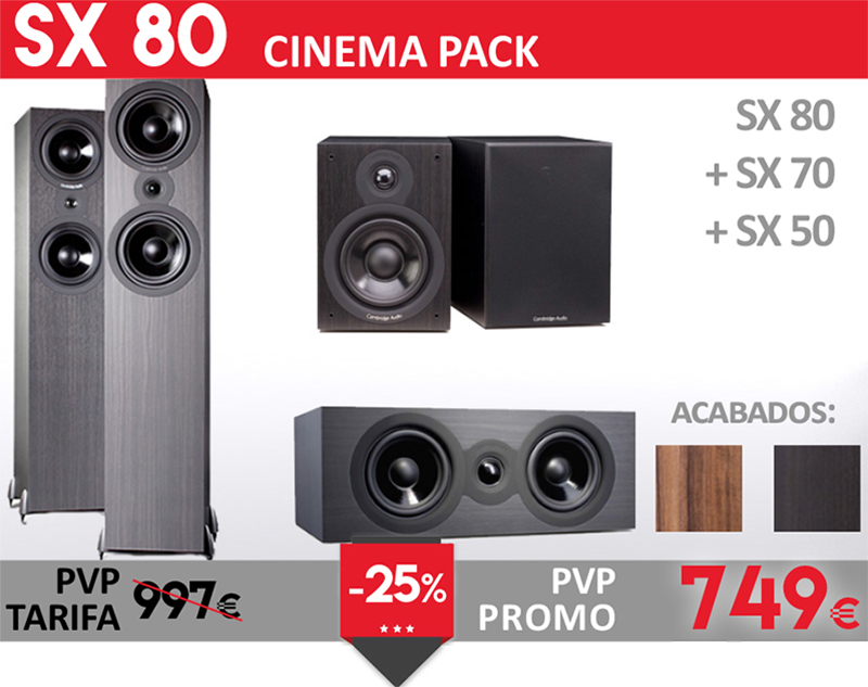Cambridge Audio SX80 Cinema Pack