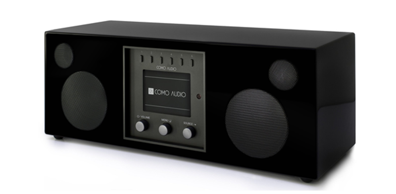 Como Audio Duetto Piano black