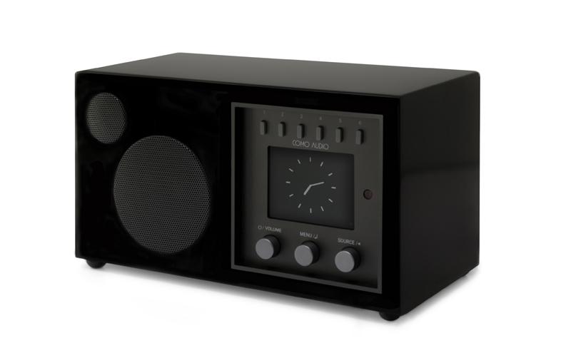 Como Audio Solo de color Piano black