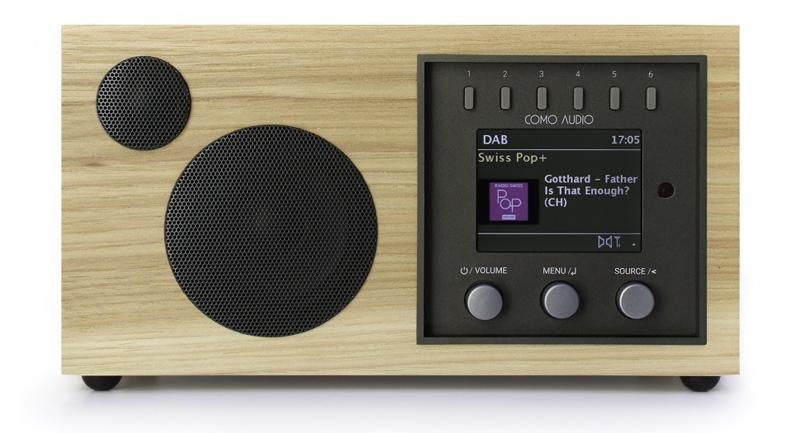 Como Audio Solo de color Hickory