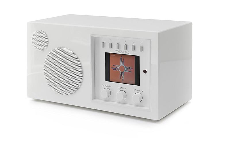 Como Audio Solo de color Piano white