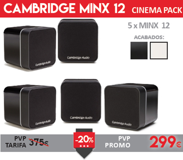 Cambridge Audio Minx12 Cinema Pack