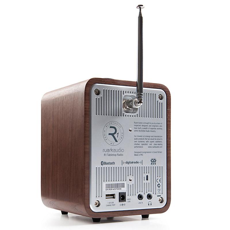 Ruark Audio R1 Mk3 parte trasera.