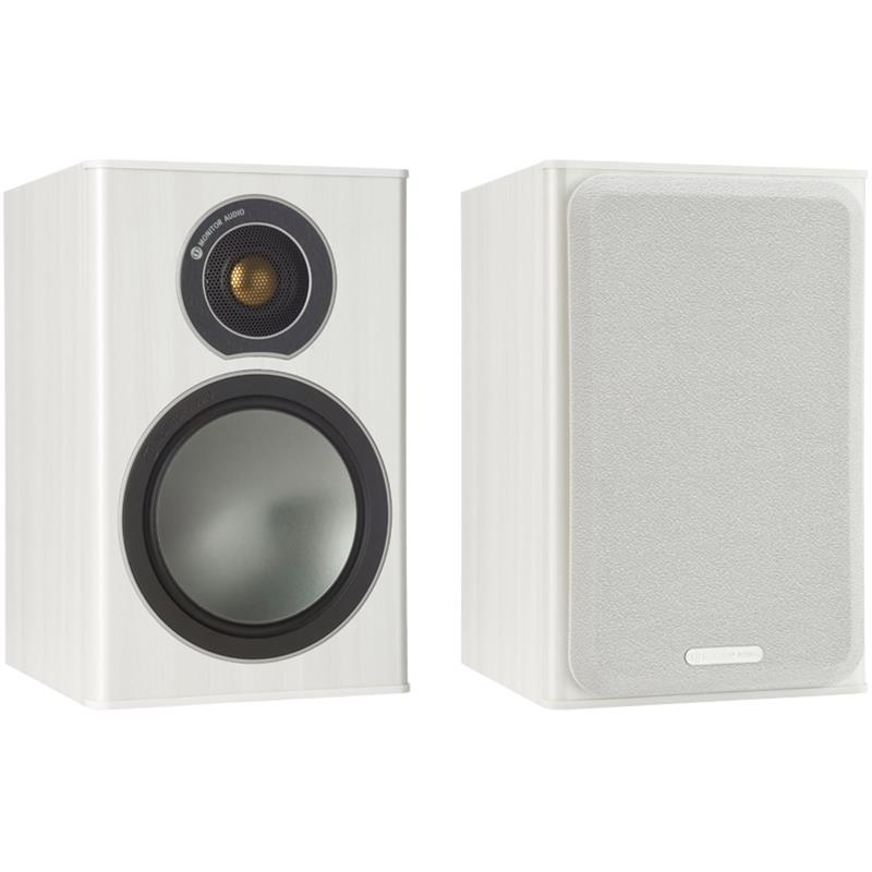 Monitor Audio Bronze 1 Vinilo blanco