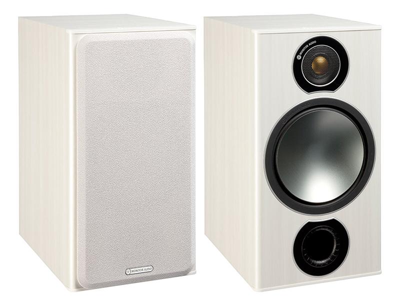 Monitor Audio Bronze 2 Vinilo blanco