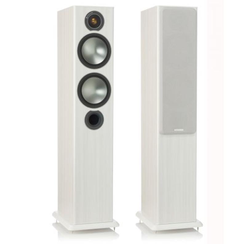 Monitor Audio Bronze 5 Vinilo blanco