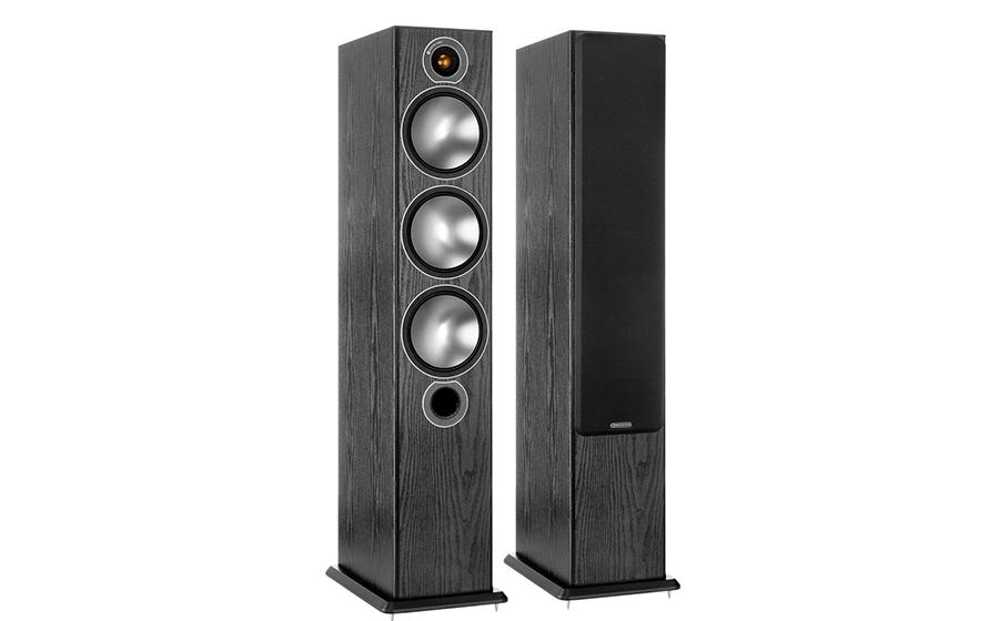 Monitor Audio Bronze 6 Negro madera