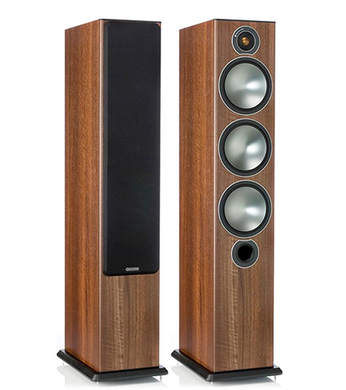Monitor Audio Bronze 6 Nogal