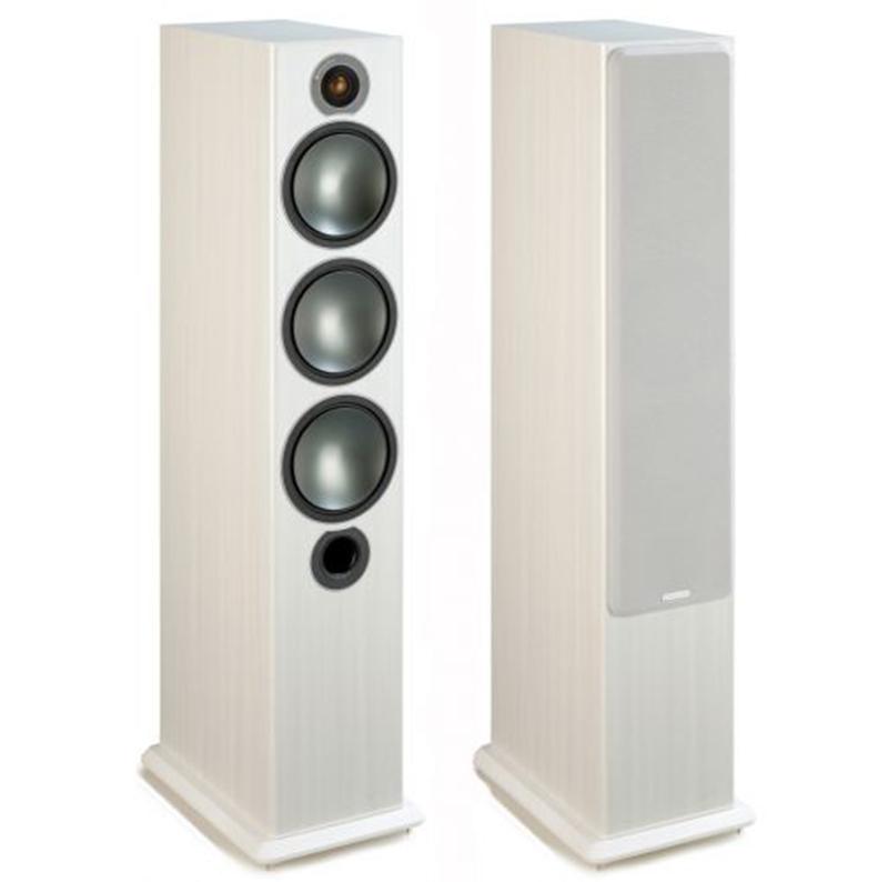 Monitor Audio Bronze 6 Vinilo blanco