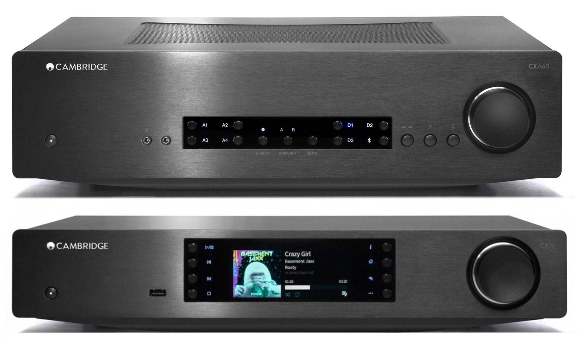 Pack Cambridge Audio CX A60 +CXN V2 negro
