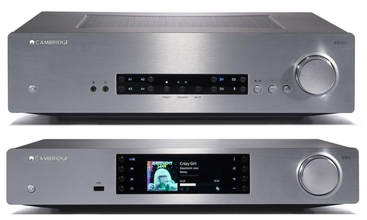 Pack Cambridge Audio CX A60 +CXN V2 plata