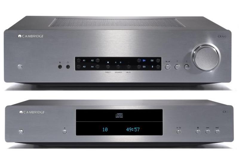 Pack Cambridge Audio CX A60 + CX C Silver