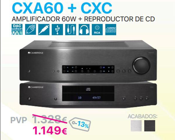 Pack CXA60+CXC