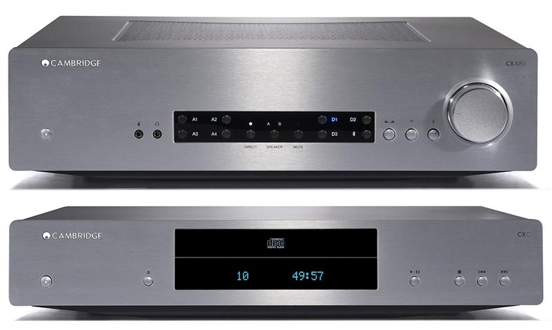 Pack Cambridge Audio CX A80 + CX C Plata