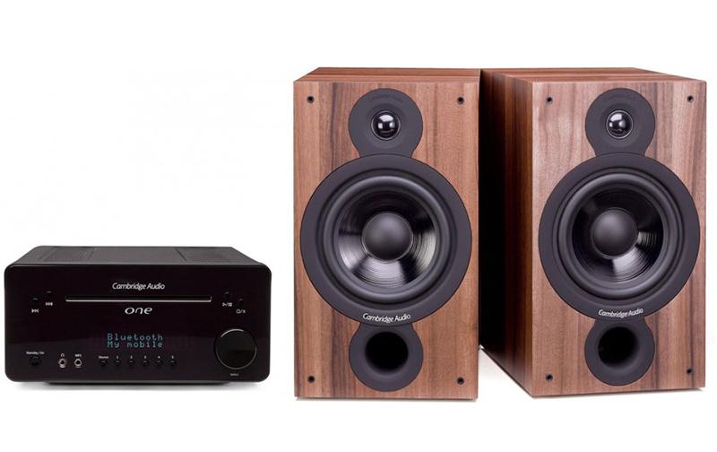 Cambridge Audio One V2 Black + SX60 Walnut