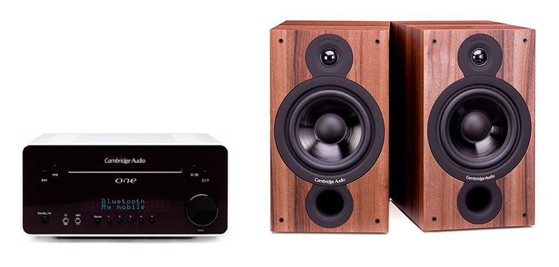 Cambridge Audio One V2 White + SX60 Walnut