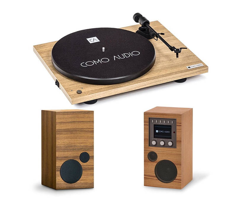 Como Audio Turntable Hickory + Amico + Amica.