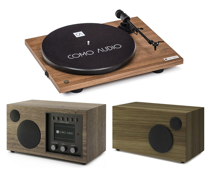 Como Audio Turntable + Solo + Ambiente