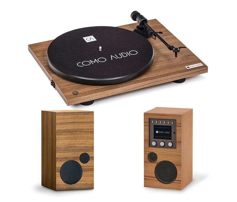 Como Audio Turntable Walnut + Amico + Amica.