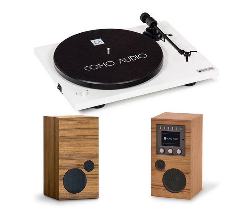 Como Audio Turntable White + Amico + Amica