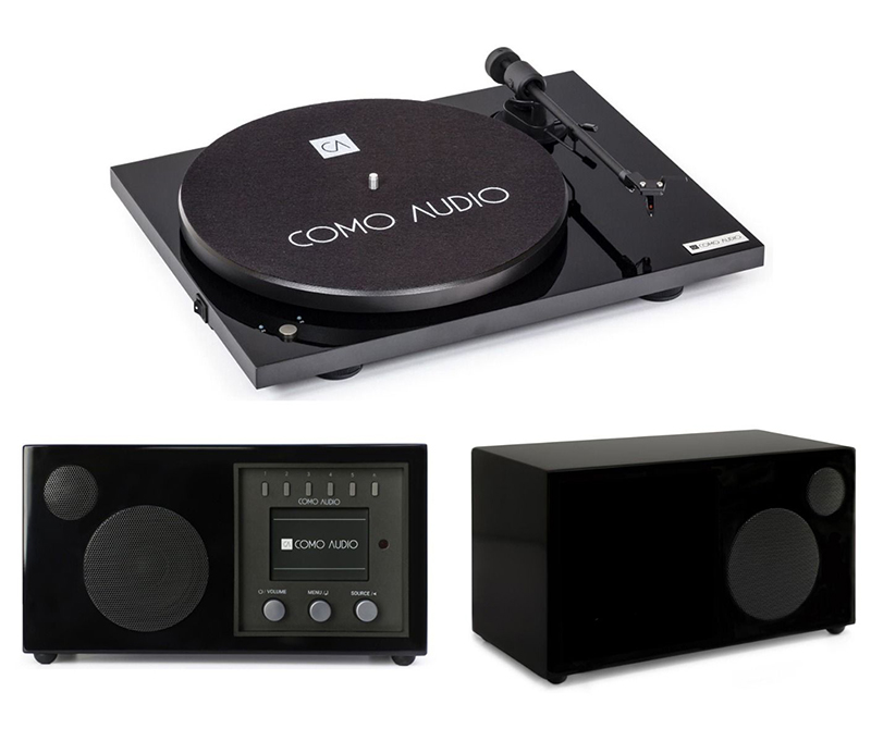 Como Audio Turntable + Solo + Ambiente Premium