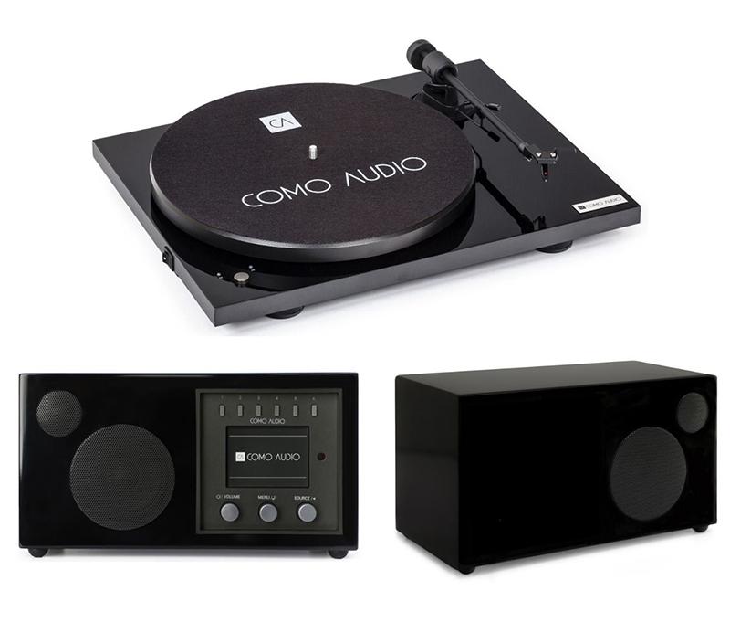 Como Audio Turntable + Solo + Ambiente Premium
