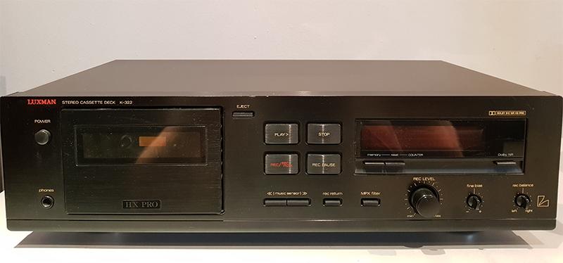 Luxman K-322