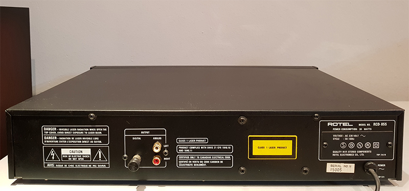 Rotel RCD-855
