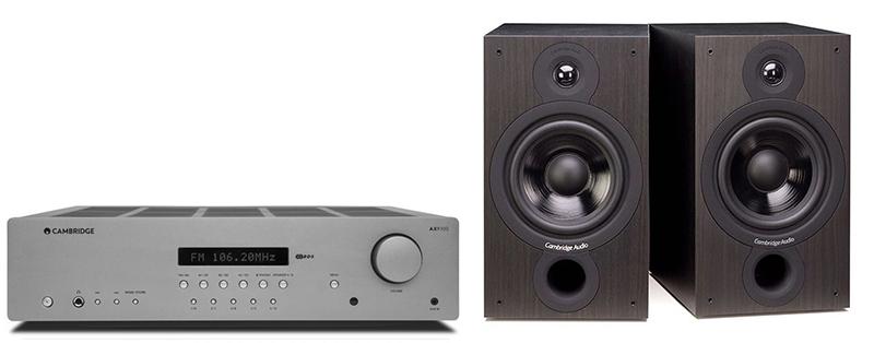 Cambridge Audio AXR100 +SX60 Black