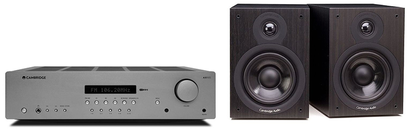 Cambridge Audio AXR85 + SX50 Black
