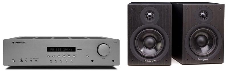 Cambridge Audio AXR85 + SX50 Black